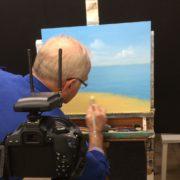 Onlinelerenschilderen.nl | de opnames van een nieuwe schildercursus zijn in volle gang